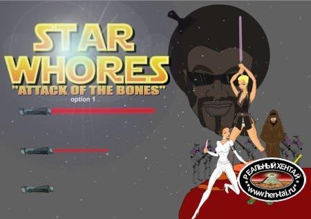 Star Whores Attack of the Bones