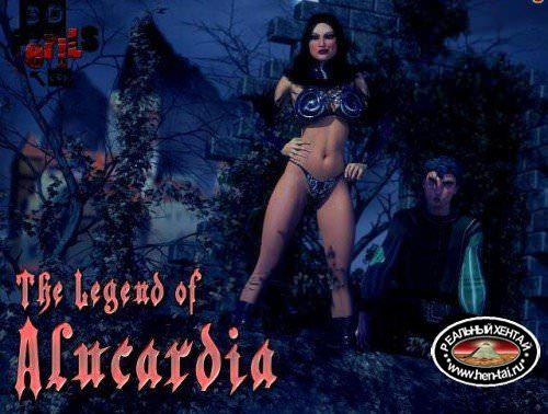 [3D Adult Comic] The Legend of Alucardia