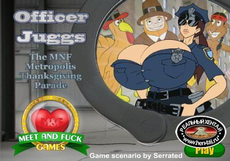 Officer Juggs The MNF Metropolis Thanksgiving Parade