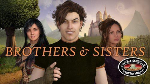 Sisters&Brothers episode 1 [episode 1] (Maestrostudio) [uncen] [2016, RPG, sex, classic, incest] [eng]