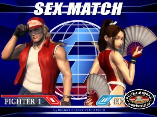 Sex Match: Mai Shiranui vs. Terry Bogard / Секс Матч: Май Сирануи против Терри Богард (GalaxyPink) [uncen] 2011 [eng]