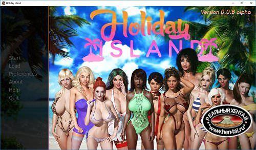 Holiday Island [v.0.2.1.1 Beta] + Cheats + Companion Mod[2017/PC/ENG] Uncen