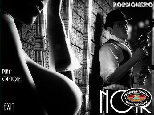 PornoHero 3D Game [Noir Build] (2018/ENG)
