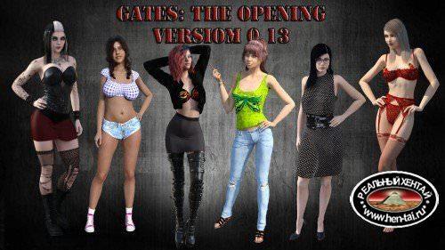 Gates: The Opening [v.1.0 Final + Extras + Bonus Scene + Walkthrough + Save] (2017/PC/ENG)