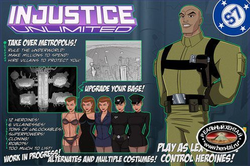 Injustice Unlimited (Something Unlimited) [[v.2.2.9]+Extras: HD Asset Pack #12 + SAVE FILE + WALKTHROUGH] [2016/PC/ENG] Uncen