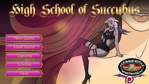 High School Of Succubus [v.1.40][2017/PC/ENG] Uncen