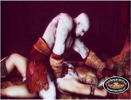 Kratos Fuck Sophitia
