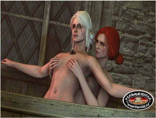 Ciri and Triss Play Time