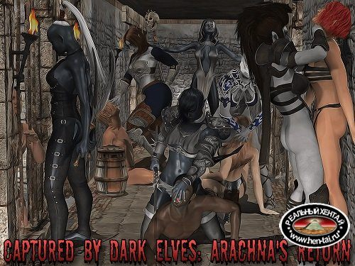 Captured by Dark Elves: Arachna's Return [Ep. 3 Fix1]][2018/PC/ENG] Uncen