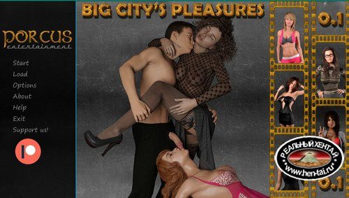 Big City's Pleasures [v0.1b] (2018/ENG/ESP)