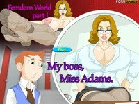 Femdom World Part 1: My Boss, Miss Adams (онлайн игра)