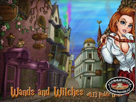 Wands and Witches  [  v.0.87b ] (2019/PC/RUS/ENG)