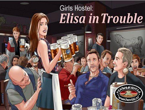 Girls Hostel: Elisa in Trouble [Ver.0.6.2] (2018/PC/ENG)