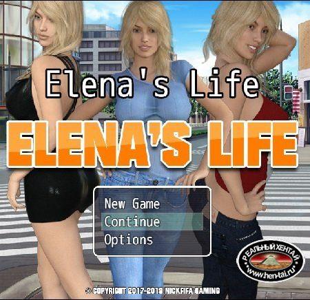 Elenas Life [v.0.33] + Ren'Py Unofficial Remake [v0.33] [2016/PC/RUS/ENG] Uncen