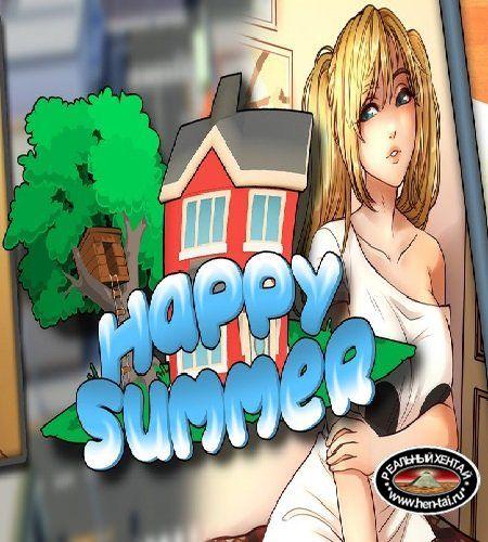 Happy Summer [ v.0.1.5] (2019/PC/RUS/ENG)