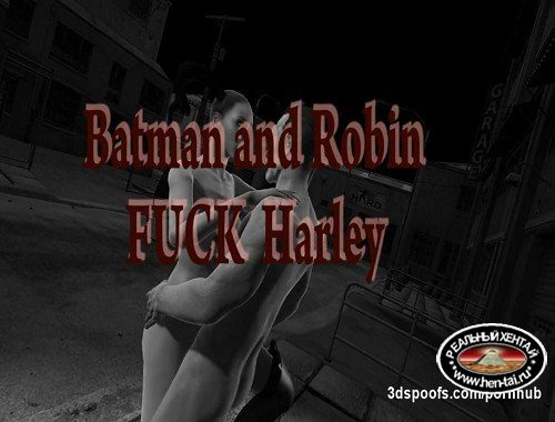 Harley Quinn Robin and the Joker 3 some - double penetration juicy pussy