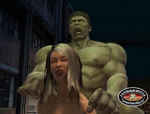 Hulk 2 - Pussy Smash