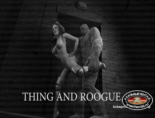 Rogue and the fantasic 4 Rock Thing