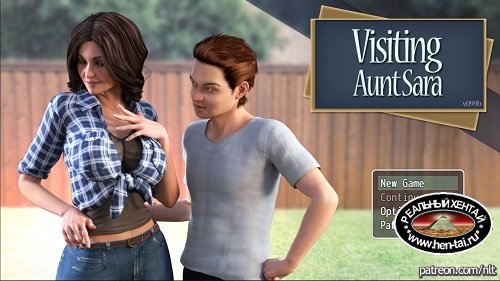 В Гостях У Тети Сары / Visiting Aunt Sara [v.1.13 + Walkthrough] [2018/PC/ENG/RUS] Uncen