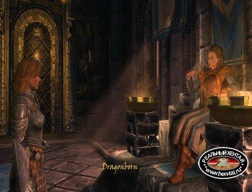 Succubus Seduces Dragonborn for Ritual