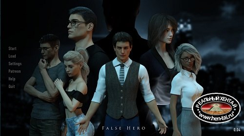 False Hero [v.0.20.1 FULL HD] (2019/PC/ENG) Uncen