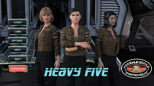 Heavy Five [Ch. 3 v.2 Remastered Fix] (2019/PC/ENG/RUS) Uncen