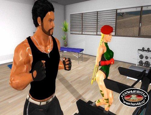 Saga vs Cammy gym