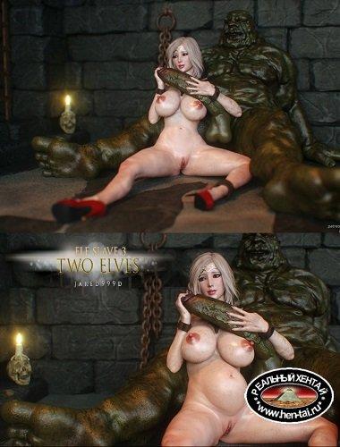 Elf Slave 3 -Two Elves