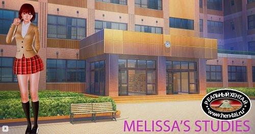 Melissa's studies / Учеба Мелиссы [v.0.9] [2019/PC/RUS/ENG] Uncen