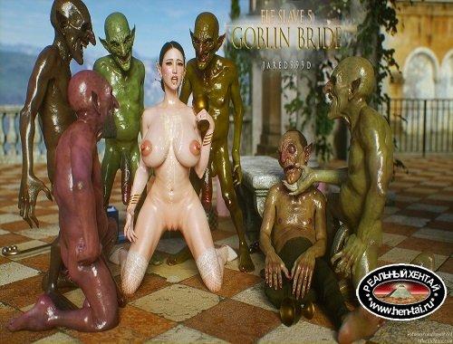 Elf Slave 5 - Goblin Bride