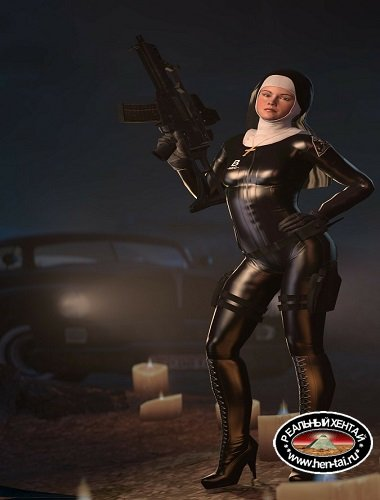 Victoria Burnwood ( Hitman: Absolution ) assembly