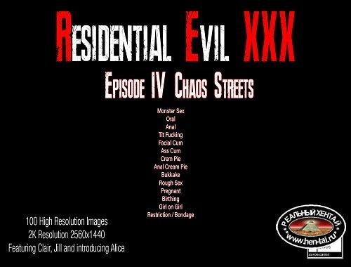 Residential Evil XXX 4